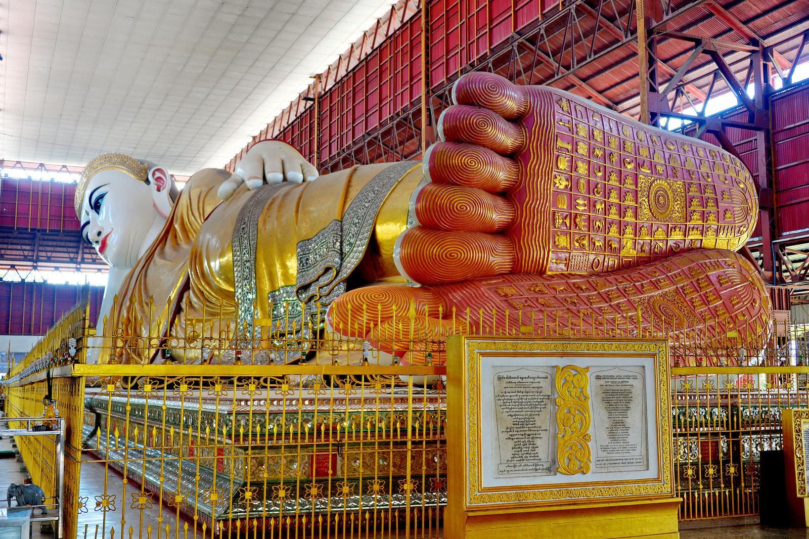 Kết quả hình ảnh cho Chùa Kyaukhtatgyi