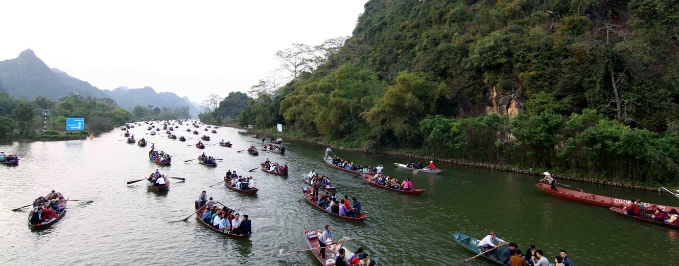 Khai hội Chùa Hương 2014